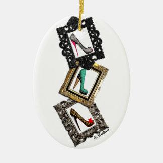 Framed Shoes Ornament