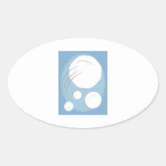 Framed Snowballs Stickers