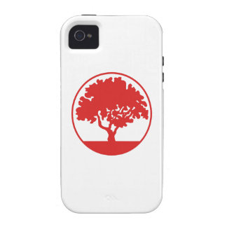 FRAMED TREE iPhone 4 COVER