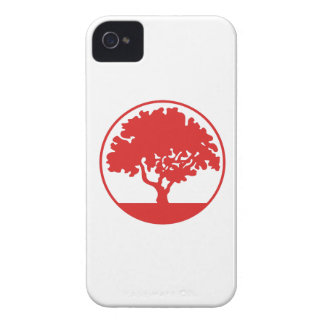 FRAMED TREE iPhone 4 Case-Mate CASE