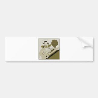 framedbozogoldtrim.png bumper sticker