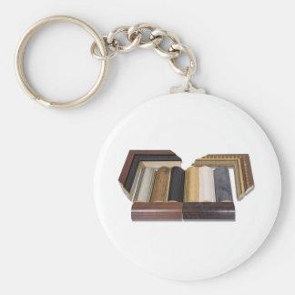 FrameSamples050809shadows Basic Round Button Key Ring