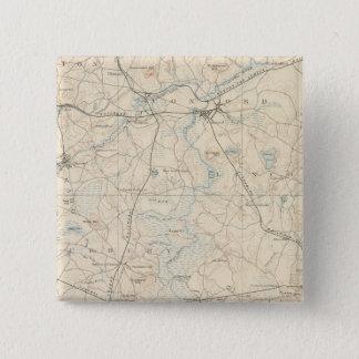 Framingham, Massachusetts 15 Cm Square Badge