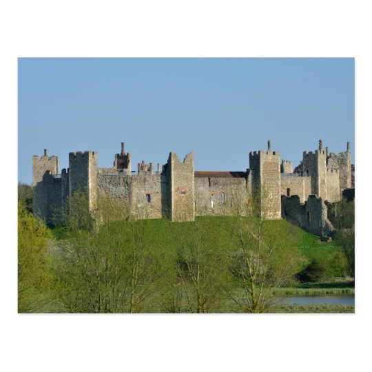 Framlingham Castle Suffolk Postcard