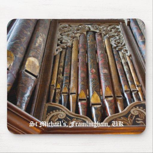 Framlingham organ mousepad