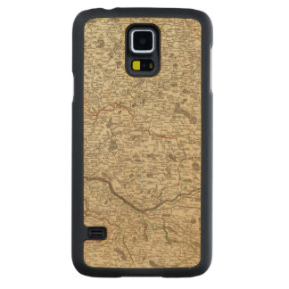 France 11 carved maple galaxy s5 case