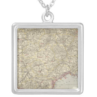 France 12 silver plated necklace