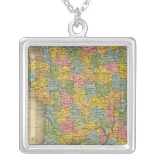 France 14 silver plated necklace