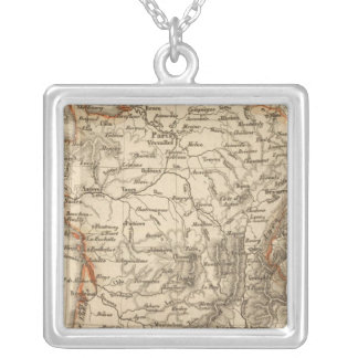 France 15 silver plated necklace