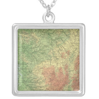 France 16 silver plated necklace