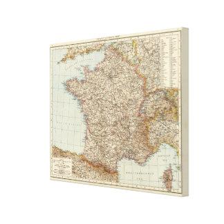 France 17 canvas print
