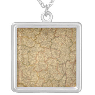 France 18 silver plated necklace