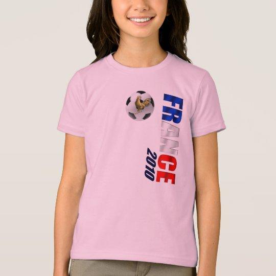 France 2010 Vertical soccer ball logo gifts T-Shirt
