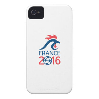 France 2016 Europe Football  Championships Case-Mate iPhone 4 Cases