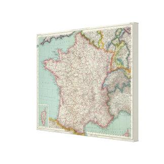 France 21 canvas print