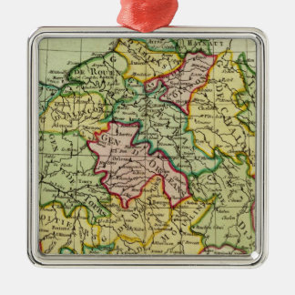 France 21 christmas ornament