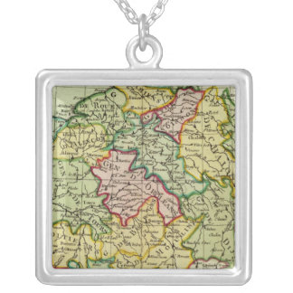 France 21 silver plated necklace