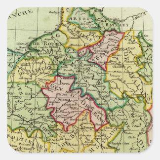 France 21 square sticker