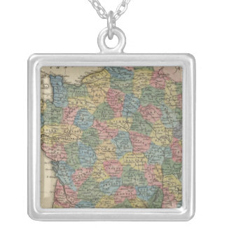 France 25 silver plated necklace