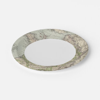 France 26 paper plate