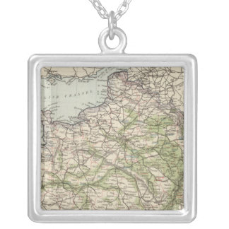 France 26 silver plated necklace