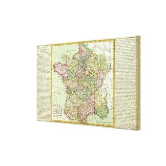 France 27 canvas print