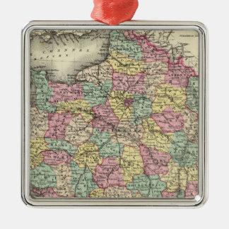 France 2 christmas ornament