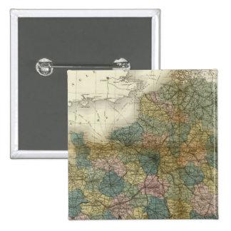 France 33 15 cm square badge