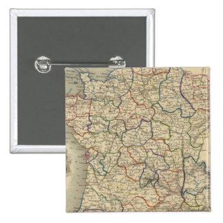 France 34 15 cm square badge
