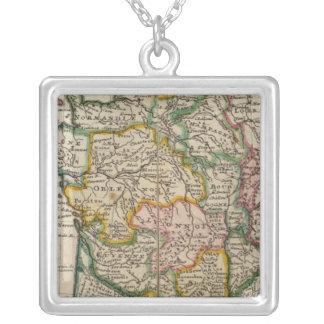 France 36 silver plated necklace