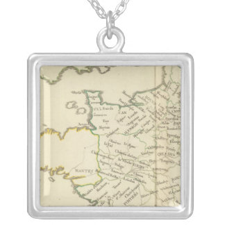 France 37 silver plated necklace