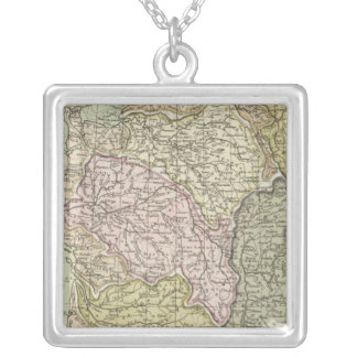 France 40 silver plated necklace
