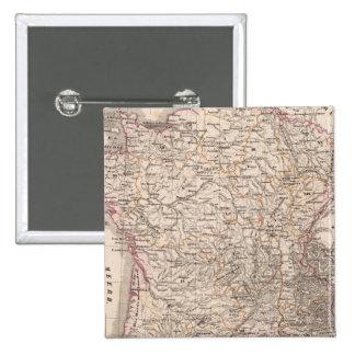 France 41 15 cm square badge