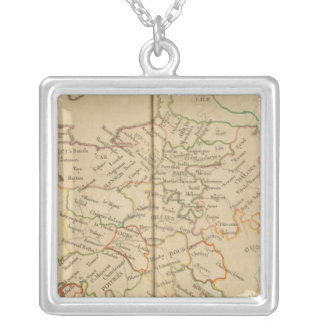 France 43 silver plated necklace