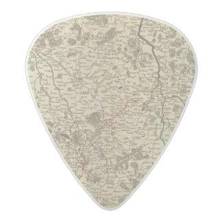 France 44 acetal guitar pick