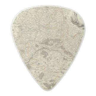 France 48 acetal guitar pick
