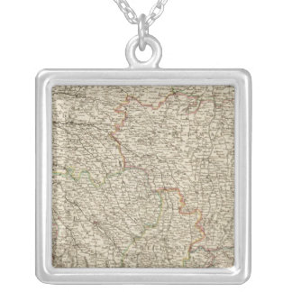 France 49 silver plated necklace