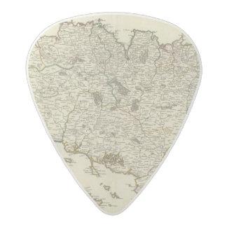 France 53 acetal guitar pick