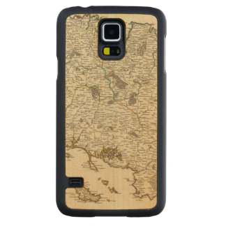 France 53 carved maple galaxy s5 case
