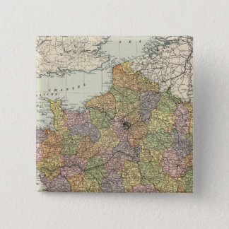 France 6 15 cm square badge