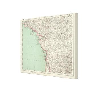 France 6 canvas print