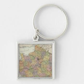 France 6 key ring