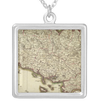 France 8 silver plated necklace