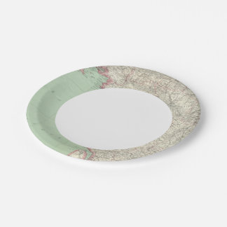 France 9 7 inch paper plate
