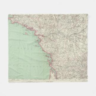 France 9 fleece blanket