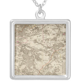 France 9 silver plated necklace