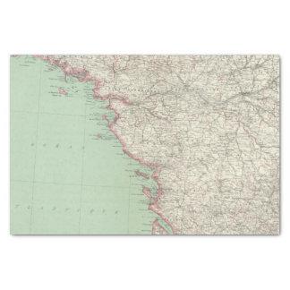 France 9 tissue paper