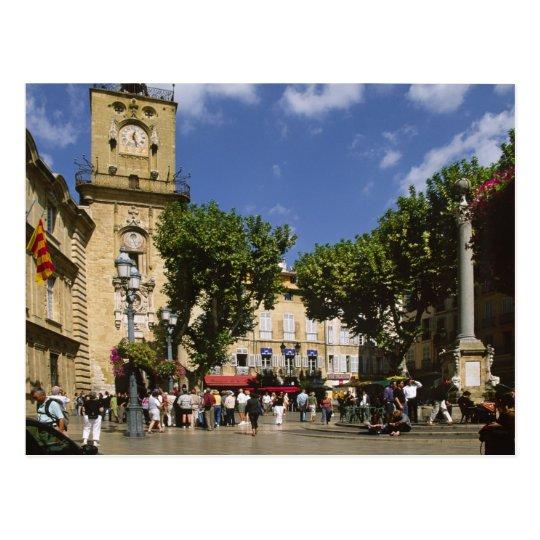 France, Aix en Provence, La Place de la