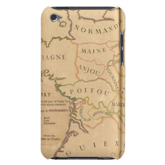 France and Departments Case-Mate iPod Touch Case