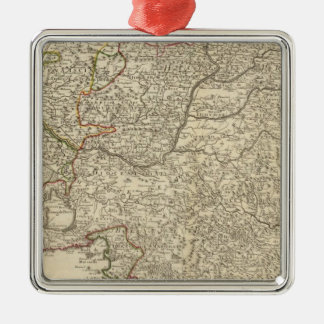 France and Europe Christmas Ornament